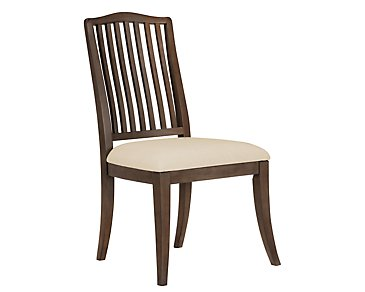 Preston Mid Tone Wood Side Chair