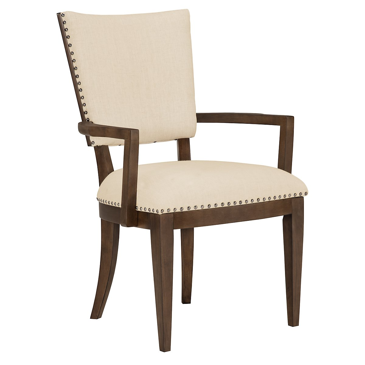 Preston Mid Tone Upholstered Arm Chair