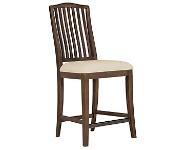 "Preston Mid Tone 24"" Wood Barstool"