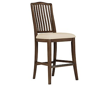 "Preston Mid Tone 30"" Wood Barstool"