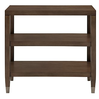 Preston Mid Tone Rectangular End Table
