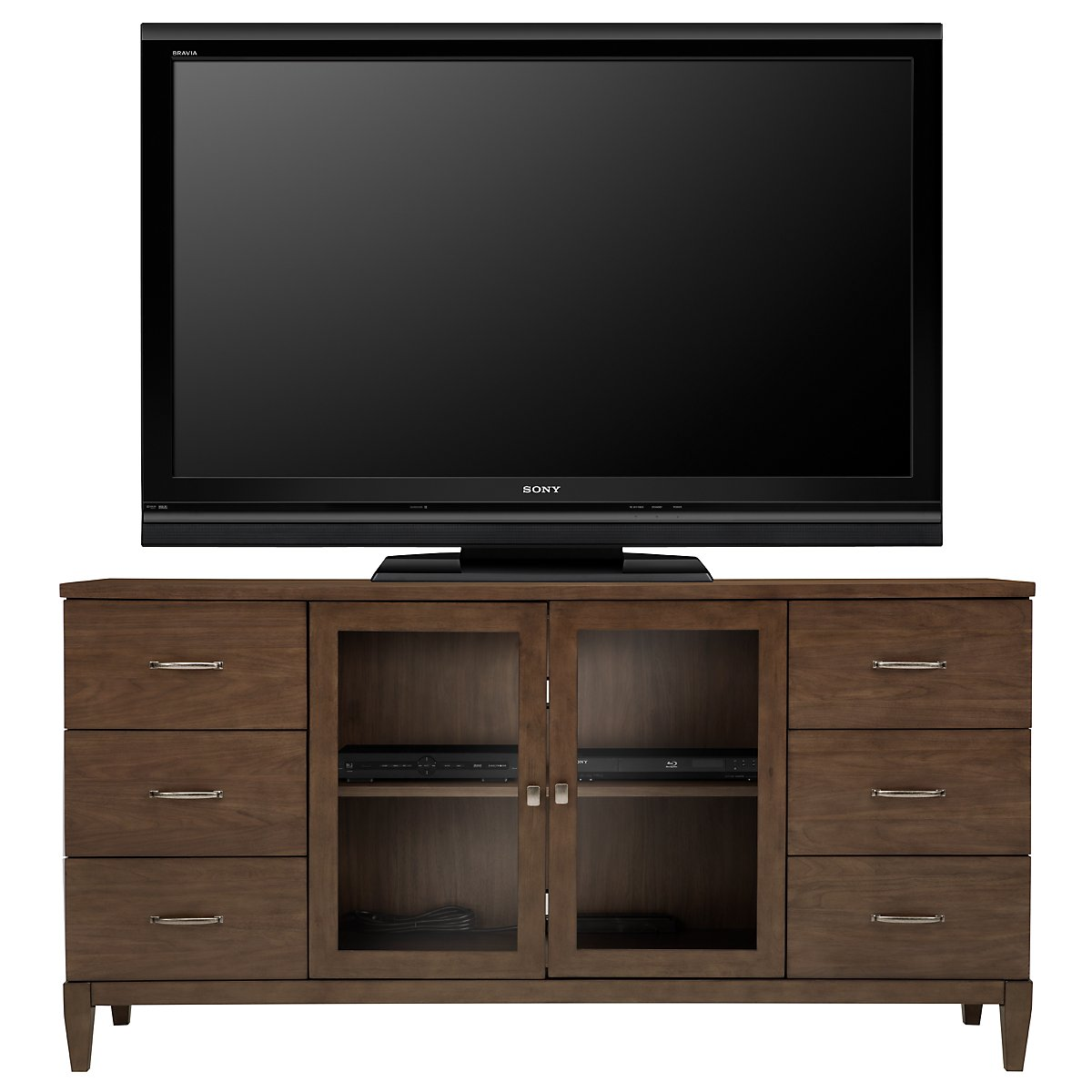 "Preston Mid Tone 72"" TV Stand"