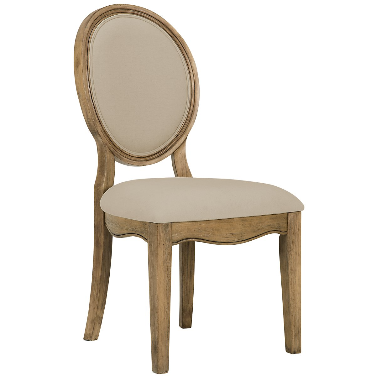 Shelbourne2 Mid Tone Round Upholstered Side Chair