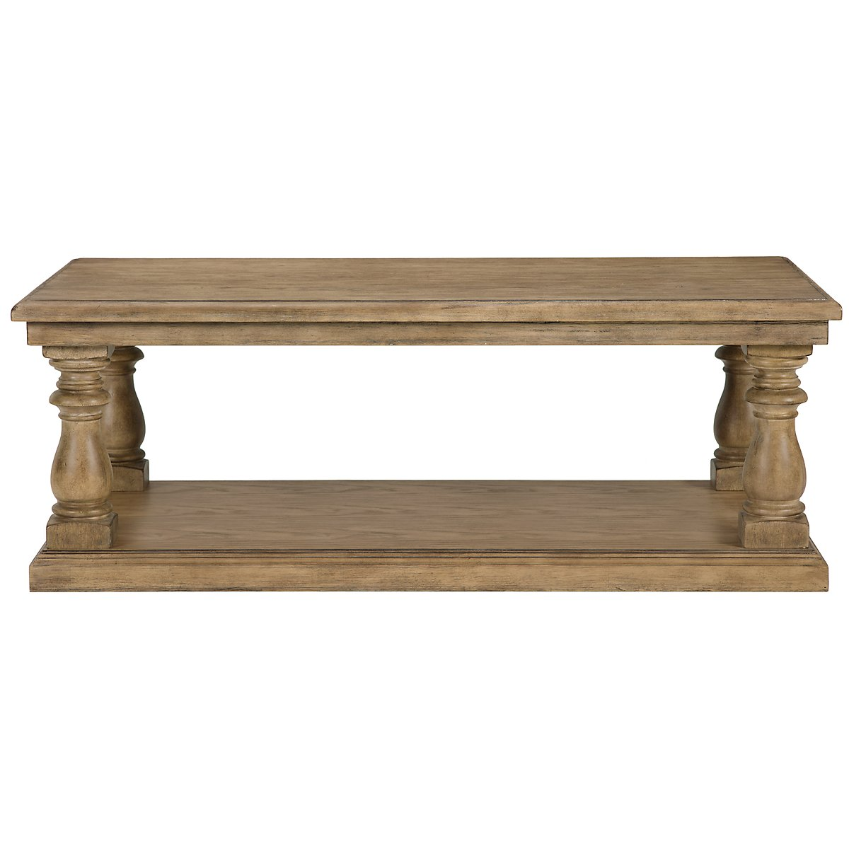 Shelbourne2 Mid Tone Rectangular Coffee Table