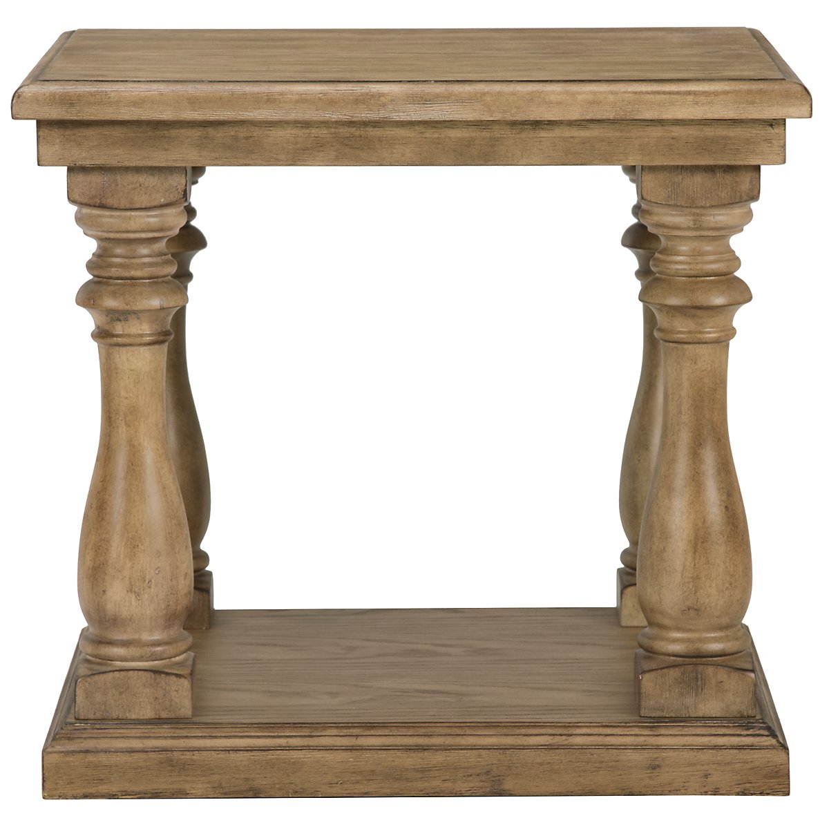 Shelbourne2 Mid Tone Square End Table