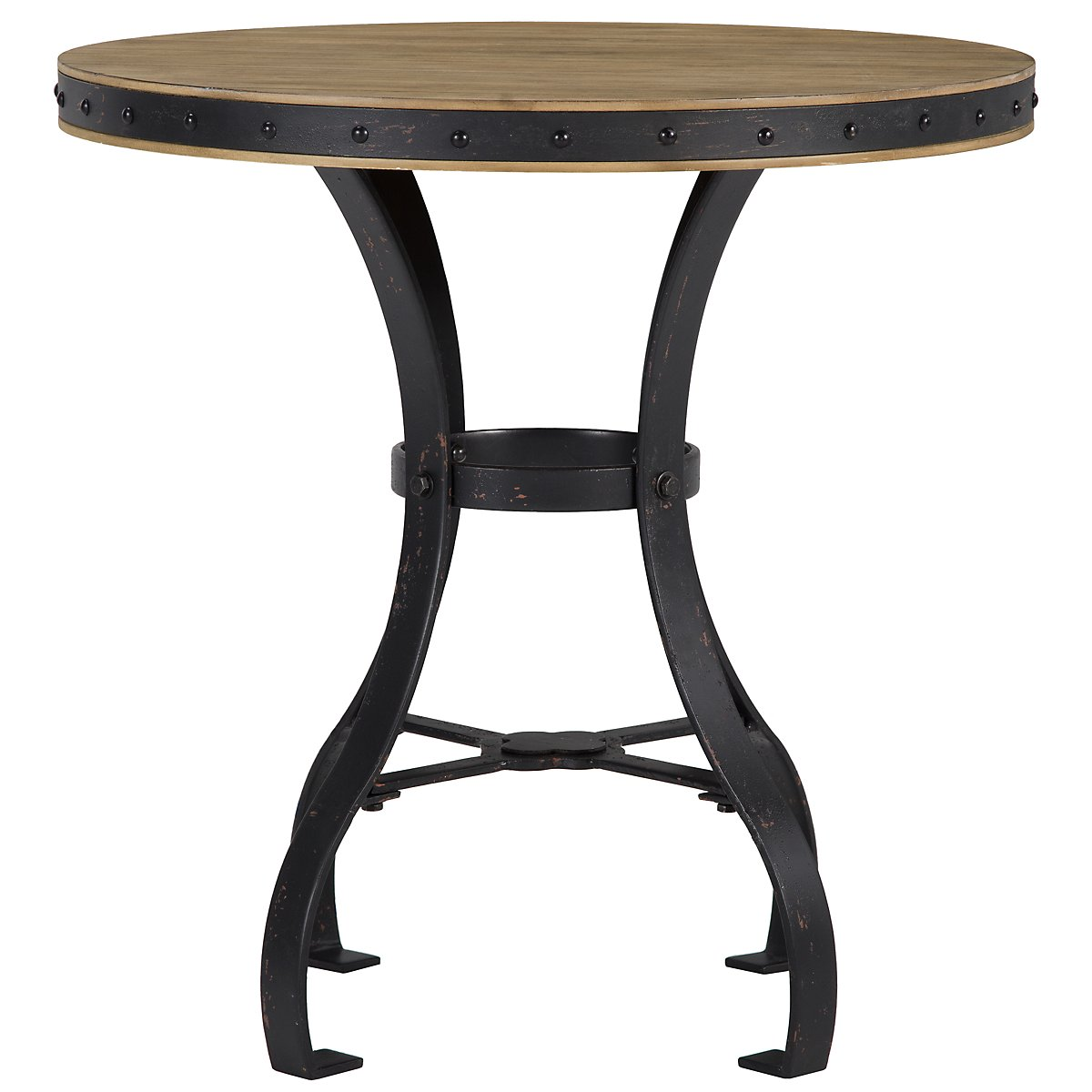 Shelbourne2 Mid Tone Round End Table