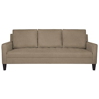 Gatsby Dk Taupe Fabric Sofa