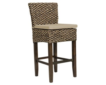 City Furniture Kona Mid Tone Cushioned Woven Side Chair