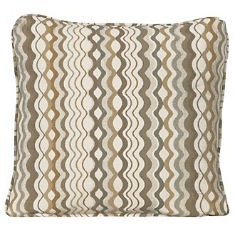 Grant2 Multi Fabric Square Accent Pillow