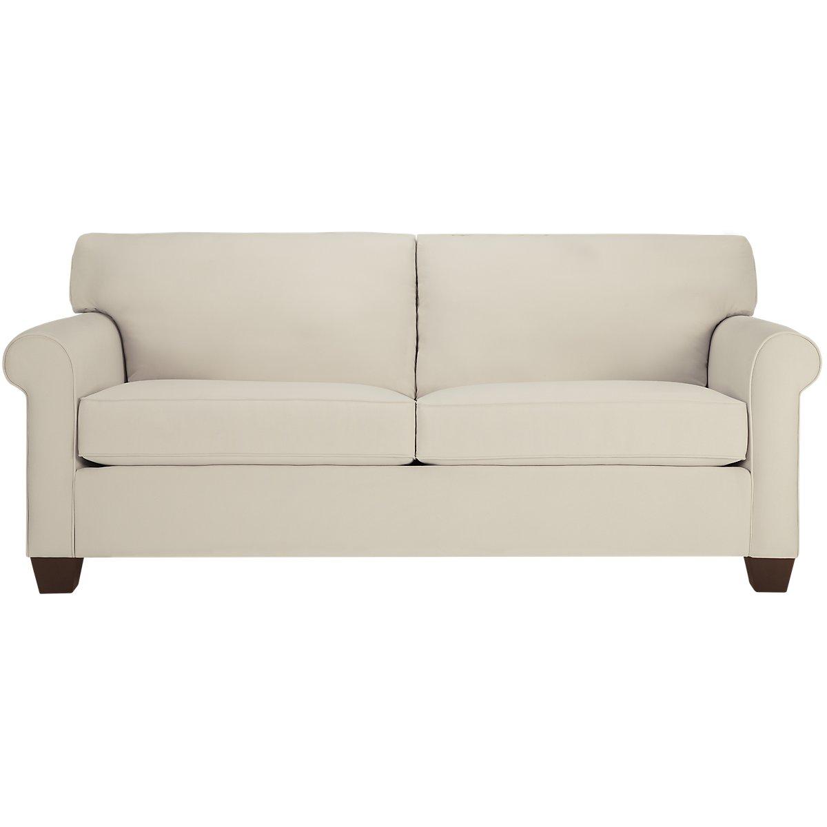City furniture corlis lt beige fabric sofa for Couch beige