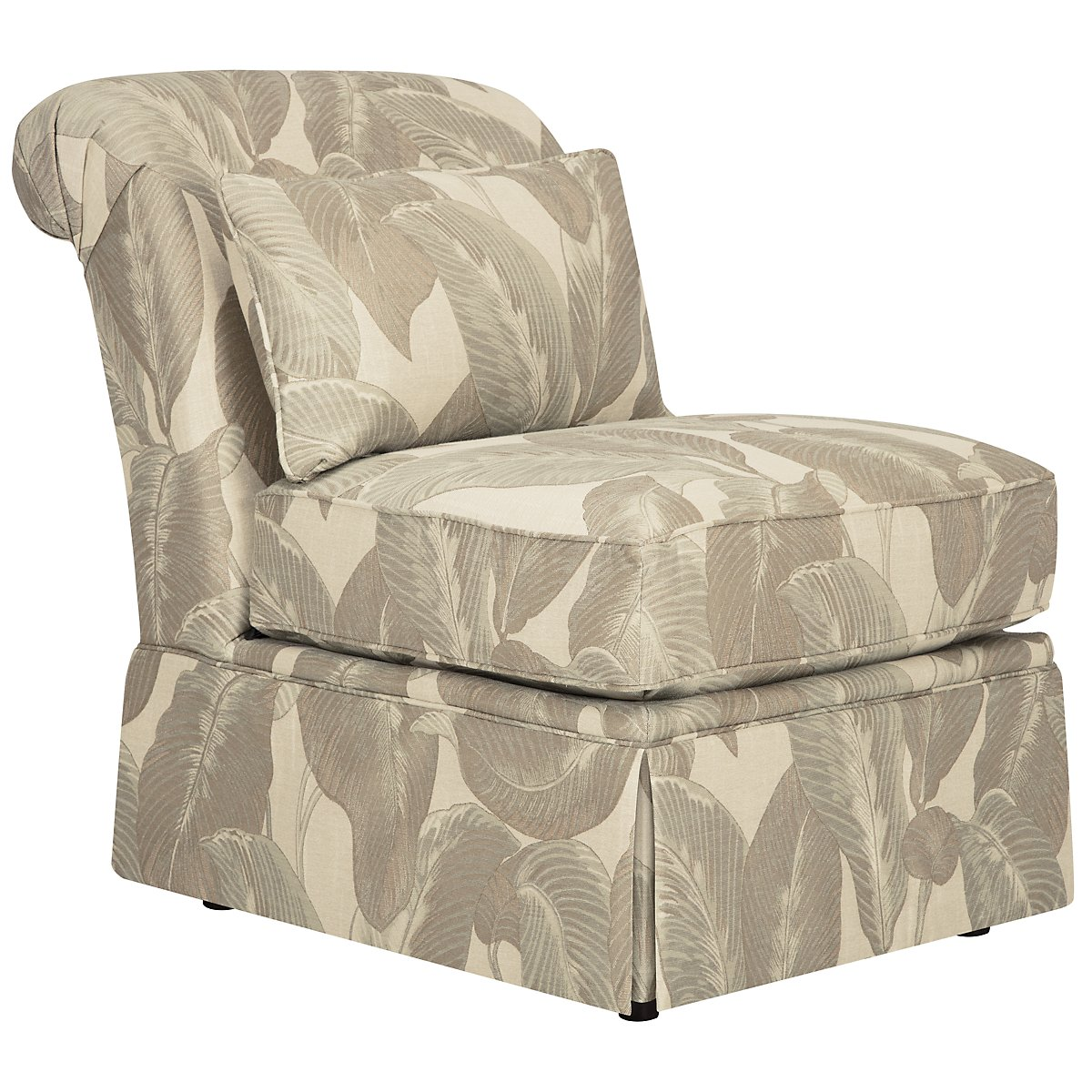 Erin Multi Green Accent Chair