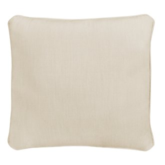 "Moka Light Beige 18"" Indoor/Outdoor Accent Pillow"