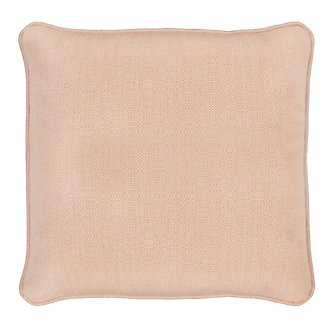 "Moka Light Orange 18"" Indoor/Outdoor Accent Pillow"