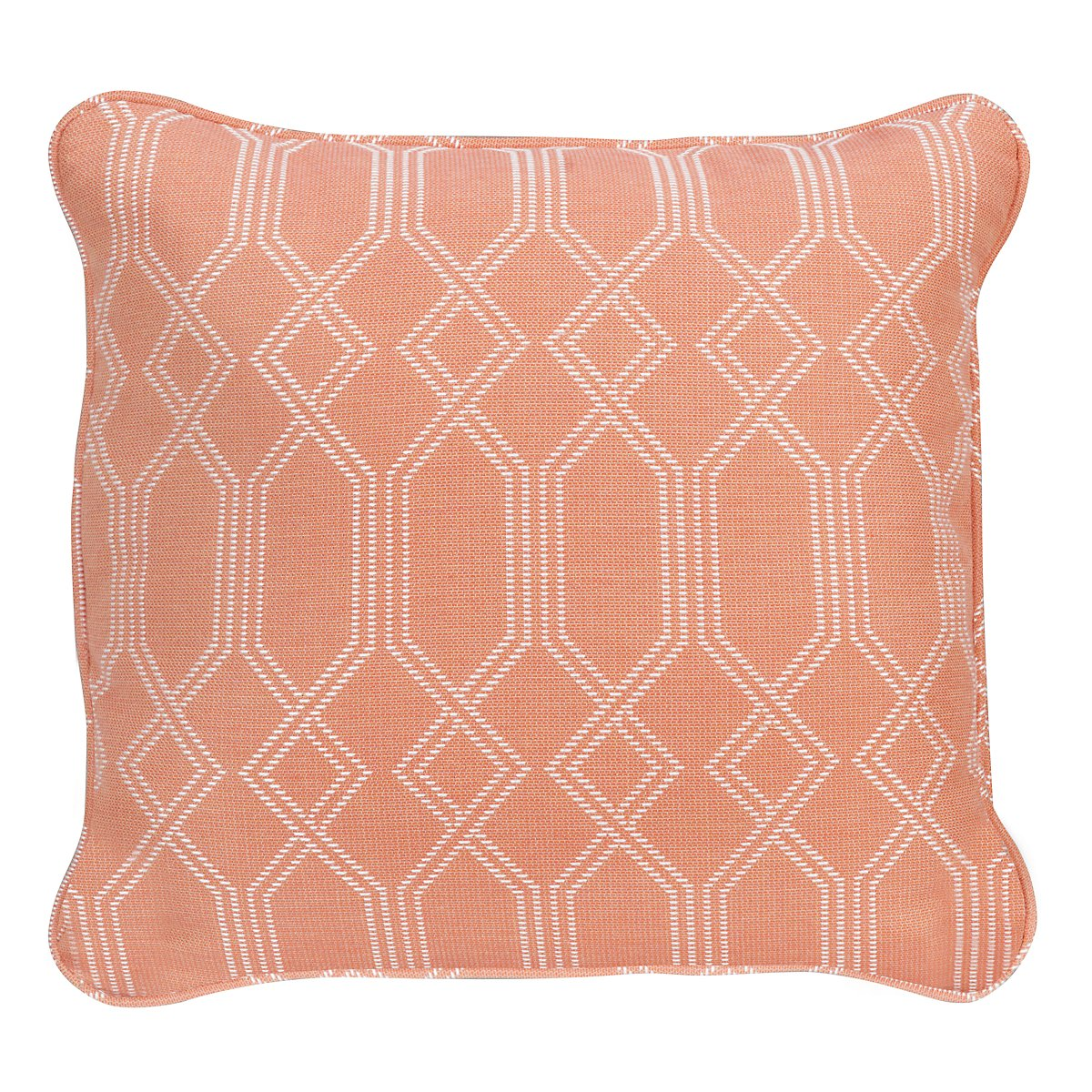 "Connect Orange 18"" Indoor/Outdoor Accent Pillow"
