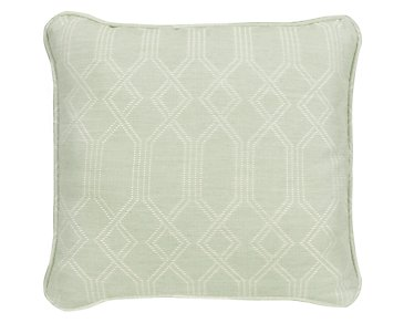 "Connect Light Green 18"" Indoor/Outdoor Accent Pillow"