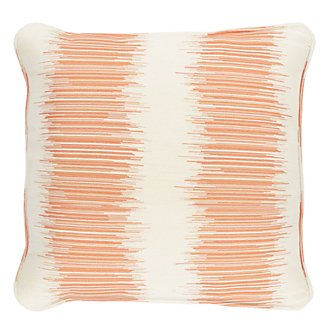 "Impromptu Orange 18"" Indoor/Outdoor Accent Pillow"
