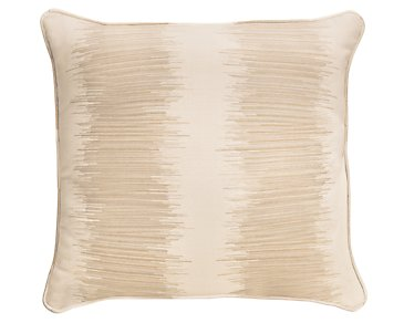 "Impromptu Light Gray 18"" Indoor/Outdoor Accent Pillow"