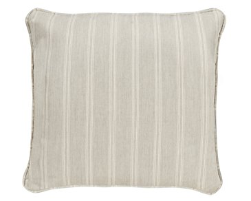 "Espadrille Light Gray 18"" Indoor/Outdoor Accent Pillow"