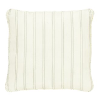 "Espadrille Light Green 18"" Indoor/Outdoor Accent Pillow"
