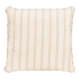 "Espadrille Light Orange 18"" Indoor/Outdoor Accent Pillow"