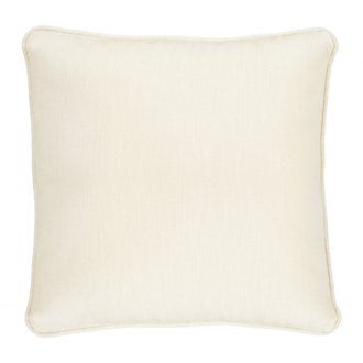 "Demo Light Beige 18"" Indoor/Outdoor Accent Pillow"