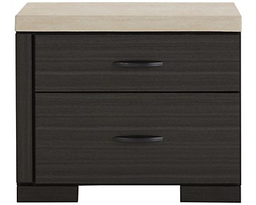 Motivo Gray Nightstand