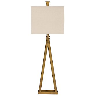 Austin Dk Gold Table Lamp