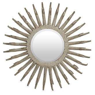 Saddie Light Beige Mirror