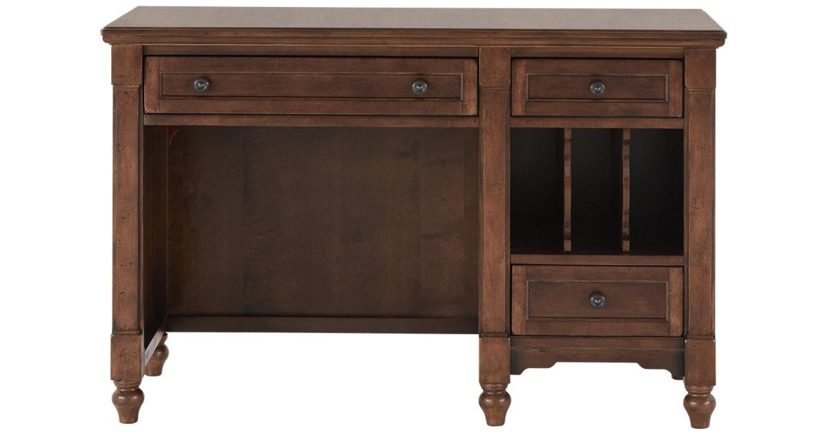 City Furniture Big Sur Dark Tone Desk
