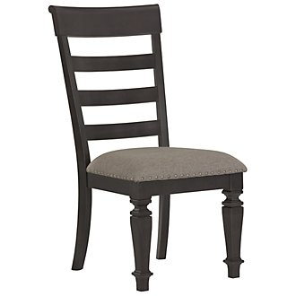 Emerson Gray Wood Side Chair