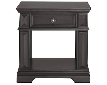Emerson Gray Rectangular End Table