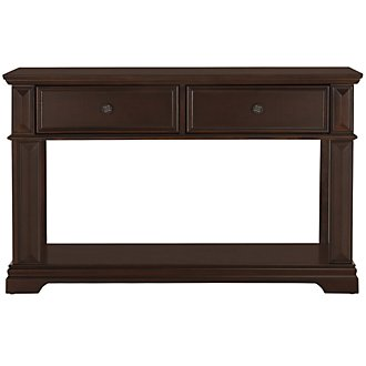 Emerson Dark Tone Sofa Table