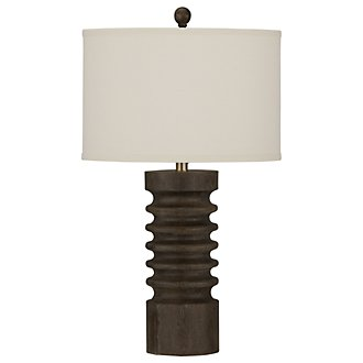 Tahiti Brown Table Lamp