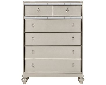 Belle Silver Drawer Chest