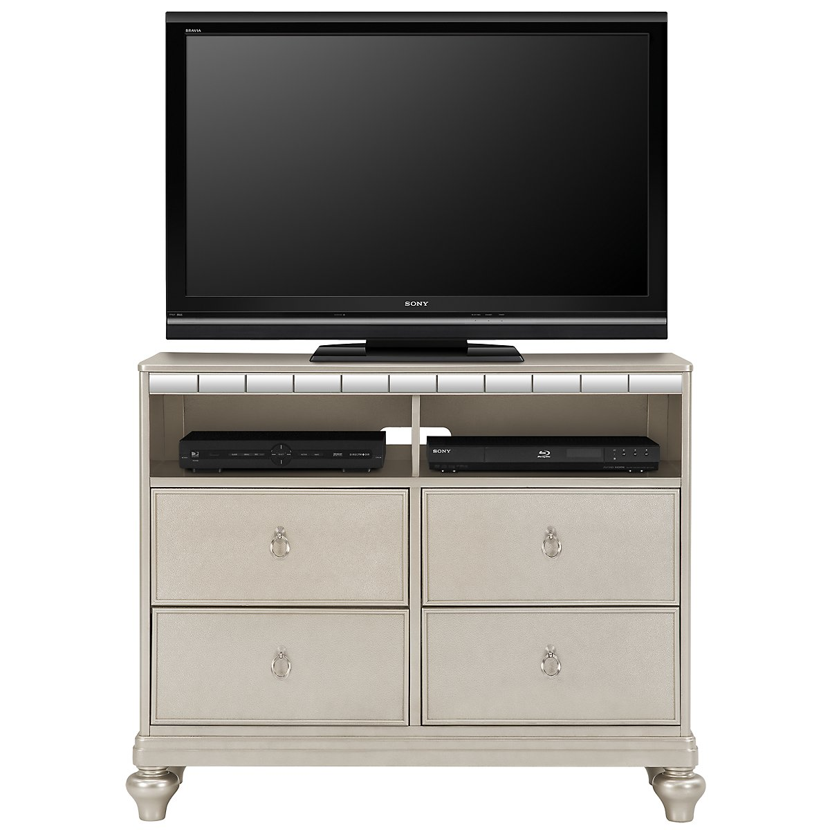 Belle Silver Media Chest. City Furniture   Bedroom Furniture   Media Chests  Armoires