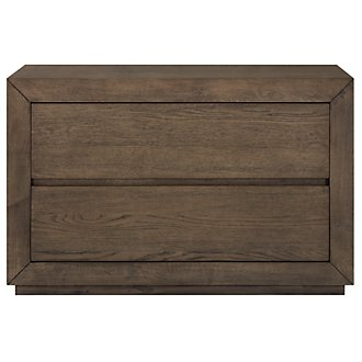 Rylan Light Tone Drawer Nightstand