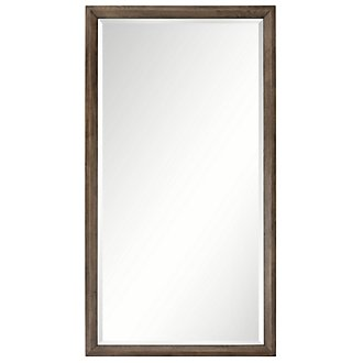 Rylan Light Tone Floor Mirror