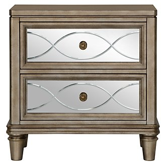 Giselle Mirrored Nightstand