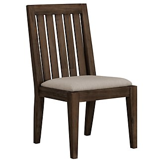 Casablanca Dark Tone Wood Side Chair