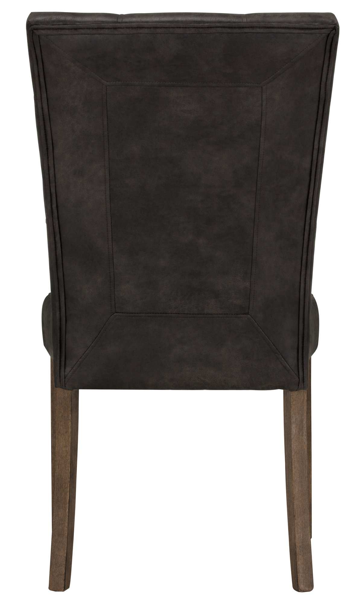 City Furniture Emmett Gray Bonded Leather Side Chair