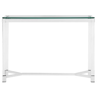 Talia Glass Sofa Table