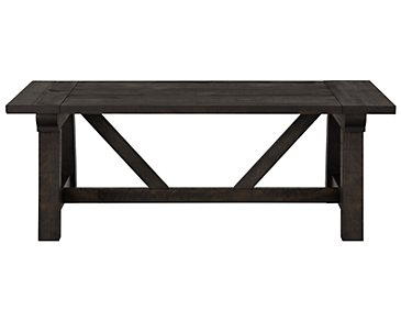 Bridgewater Black Rectangular Coffee Table