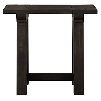 Bridgewater Black Rectangular End Table