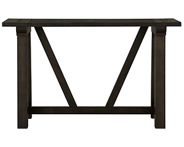 Bridgewater Black Sofa Table