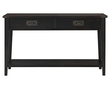 Milford Black Sofa Table