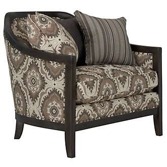 Colburn Multi Fabric Accent Chair