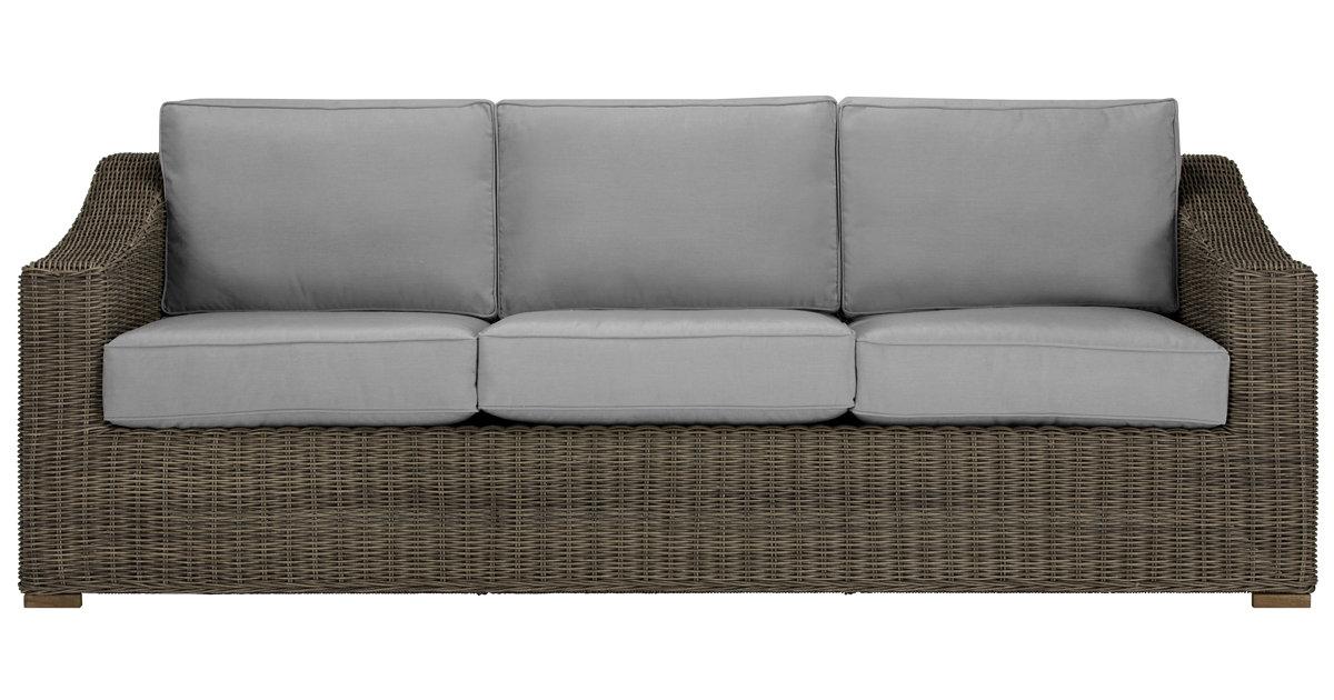 City Furniture Canyon3 Gray Sofa
