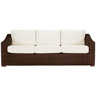 Canyon3 Dark Brown Sofa
