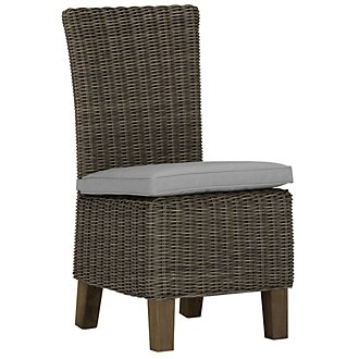Canyon3 Gray Woven Side Chair