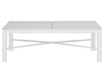 Ibiza White Lift-Top Coffee Table